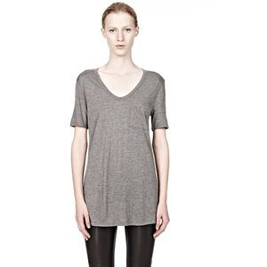 Alexander Wang Classic Tee With Pocket XS